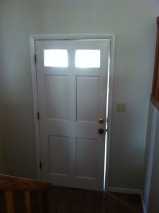 photo of a front door