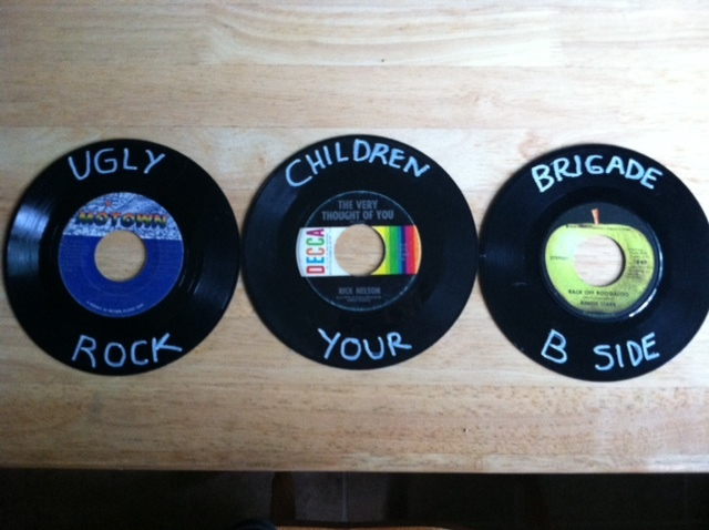 "45 records that say ""rock your b side"""